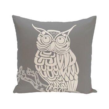 Hootie Bird Print Throw Pillow Wayfair