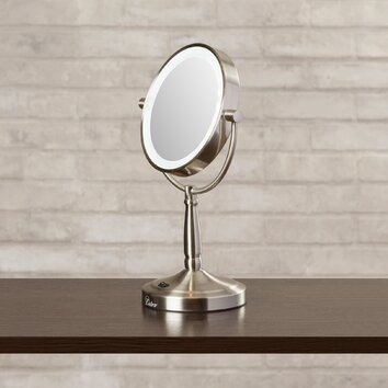 Vanity Mirror With Lights Wayfair : Hedy Vanity Mirror with LED Surround Light Wayfair
