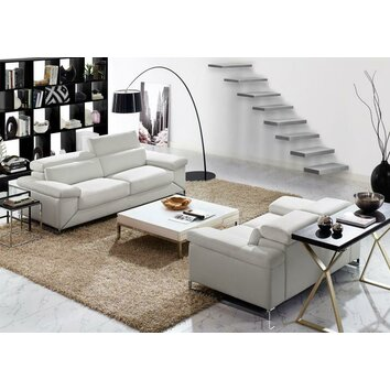 Creative Furniture Sydney Leather Sofa And Loveseat Set