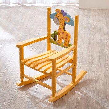 Animal Inspiration Kids Rocking Chair  Wayfair