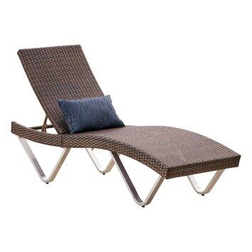 Irene patio lounger joss main for Ashley san marco chaise