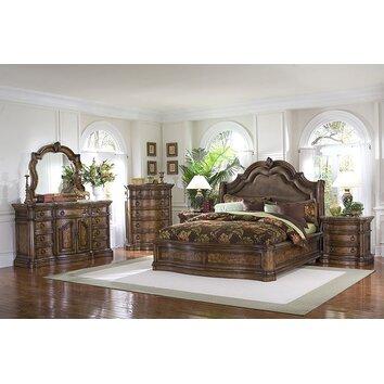 pulaski san mateo panel customizable bedroom set reviews wayfair