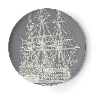 Thomas paul maritime 11 dinner plates tp45