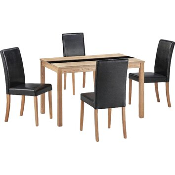All Home Ashleigh Dining Table And 4 Chairs Reviews