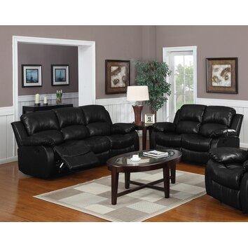 montclair 2 piece reclining living room set wayfair