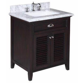 """Savannah 30"""" Single Bathroom Vanity Set"""