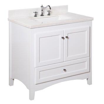 Abbey 36 Single Bathroom Vanity Set Wayfair