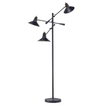 Adesso Nelson 59 Quot Task Floor Lamp Amp Reviews Wayfair