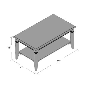 Beckwood Coffee Table Wayfair