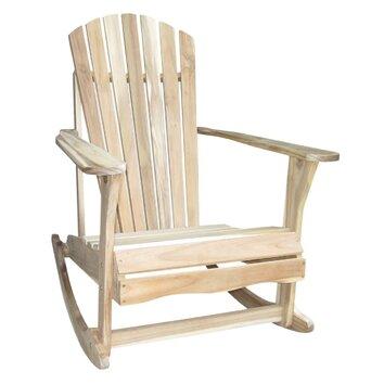 Adirondack Porch Rocking Chair  Wayfair