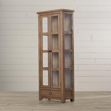 One Allium Way Thomaston Tall Cupboard Cabinet Amp Reviews