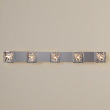 Bathroom Vanity Lights Reviews : House of Hampton Flynn 5 Light Bath Vanity Light & Reviews AllModern