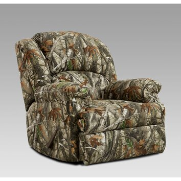 Cambridge camo rocker recliner reviews wayfair for Camo chaise lounge