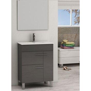 cup 24 single modern bathroom vanity set wayfair