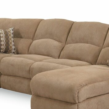 Grand torino sleeper sectional wayfair for Chaise longue torino