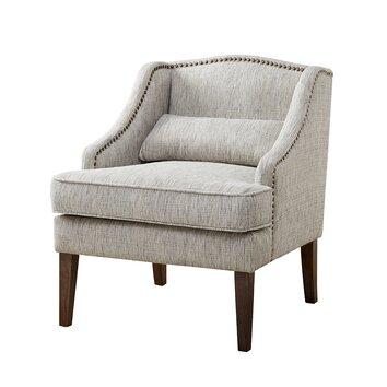Madison Park Baylor Swoop Arm Accent Chair Amp Reviews Wayfair