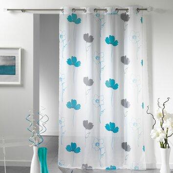 alizee curtain single panel wayfair. Black Bedroom Furniture Sets. Home Design Ideas