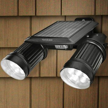 of eco twinspot pro solar dual head spot light reviews wayfair