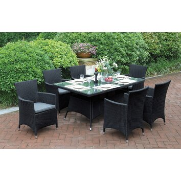 7 Piece Dining Set | Wayfair