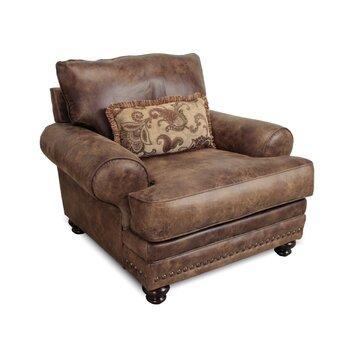 Loon Peak Claremore Chair And A Half Amp Reviews Wayfair