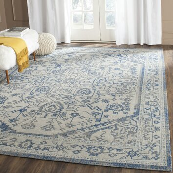 Safavieh Patina Light Gray Amp Blue Area Rug Amp Reviews Wayfair
