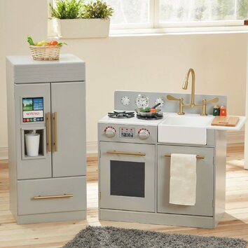 piece urban adventure play kitchen set wayfair