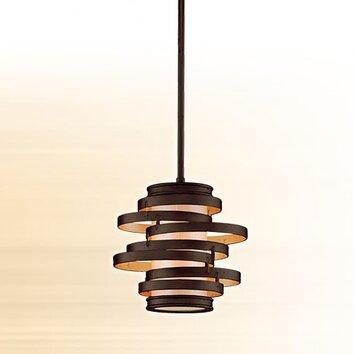 corbett lighting vertigo 1 light hanging mini pendant. Black Bedroom Furniture Sets. Home Design Ideas