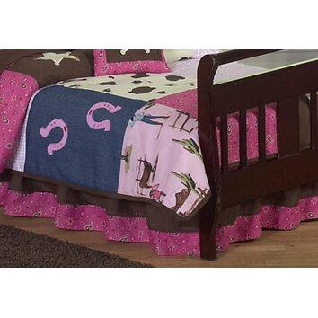 Cowgirl Toddler Bed Skirt Wayfair