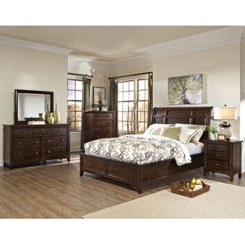 justine platfrom customizable bedroom set wayfair