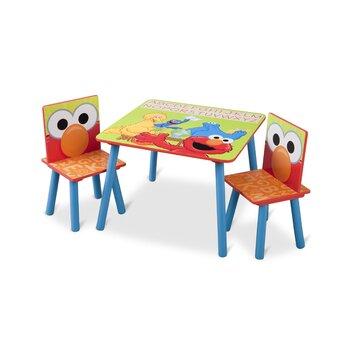 Delta Children Sesame Street Kids 3 Piece Table Amp Chair