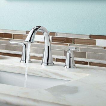 Lahara Double Handle Widespread Bathroom Faucet Wayfair