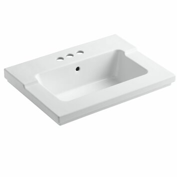 Kohler Tresham Vanity Top Bathroom Sink With Centerset