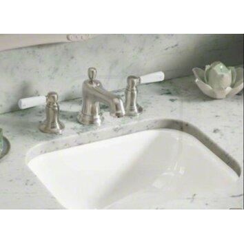 Tahoe Undermount Bathroom Sink With Oversize 8 Widespread Faucet Holes Wayfair