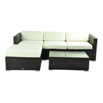 Aosom Outsunny Lounge Seating Group With Cushion Allmodern