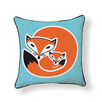 Naked Decor Fox Throw Pillow