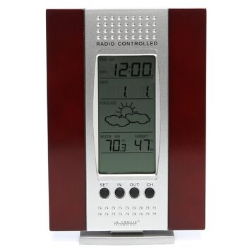 Wireless Weather Stations Thermometer Digital Clock