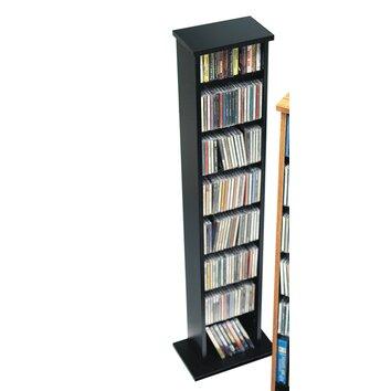 Floor Media Multimedia Storage Rack Wayfair
