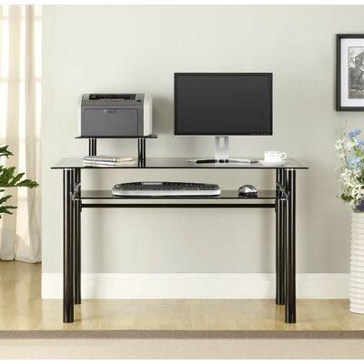 Janus Glass Computer Desk