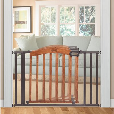 """Decorative Wood and Metal 60"""" Expansion Gate"""