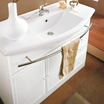 Archeda Ceramic Specialty Drop-In Bathroom Sink with Overflow
