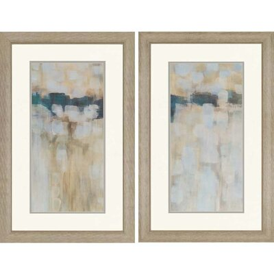 Paragon Carbon Neutral by Parker 2 Piece Framed Painting Print Set