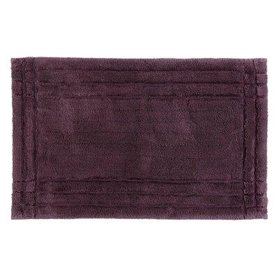 Eugene Bath Mat Size: Medium, Color: Fig