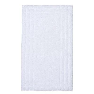 Eugene Bath Mat Size: Medium, Color: White