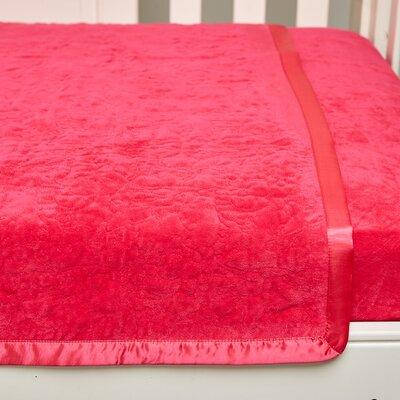 Jungle Adventure Toddler Quilt Color: Pink