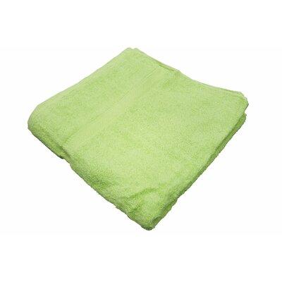 100% Cotton Bath Towel Color: Kiwi