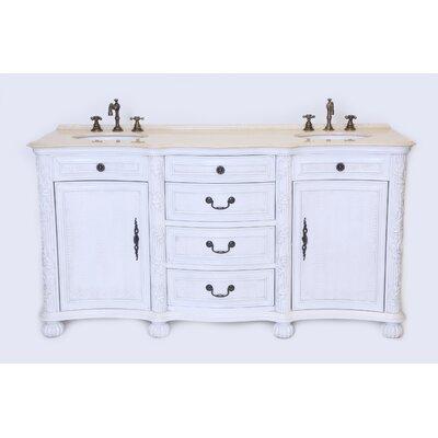 """England 37"""" Double Bathroom Vanity Set"""
