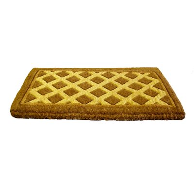 Imports Decor Woven Diamonds Doormat