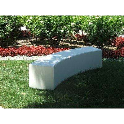 Infinity Three Seat Bench Color: Sea Sand
