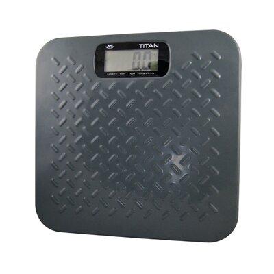 My Weigh 4 cm Personenwaage Titan in Grau