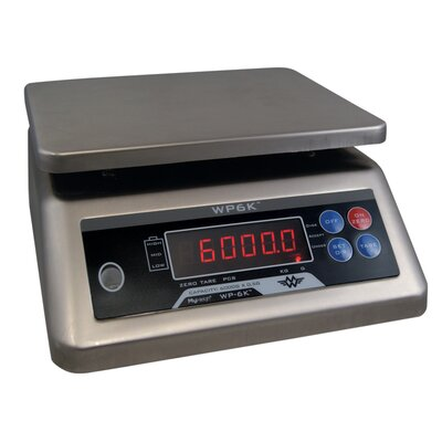 My Weigh 11,8 cm Präzisionswaage WP6000 in Silber